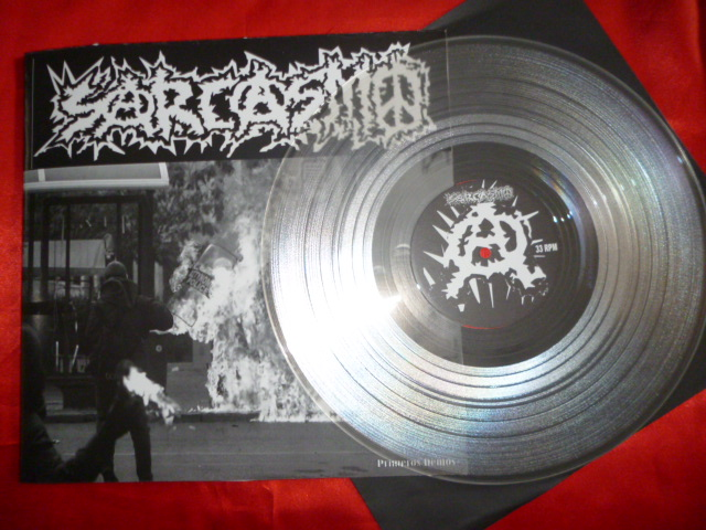 SARCASMO - Primeros Demos  LP
