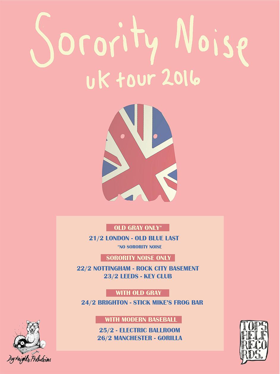 Topshelf records uk news sorority noise uk tour for Soil unreal lyrics