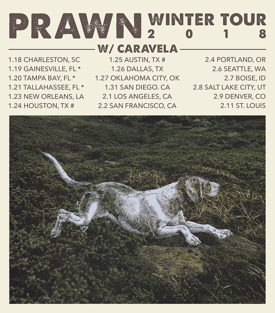 http://topshelfrecords.com/roster/prawn#tour