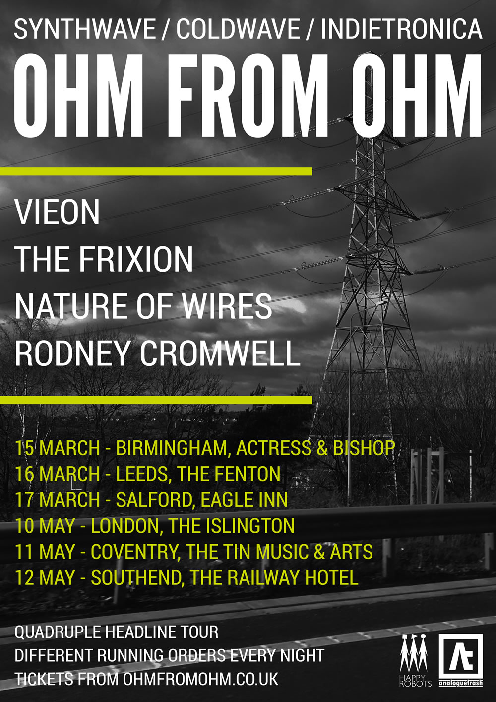 New Year: New Tour - introducing Ohm From Ohm